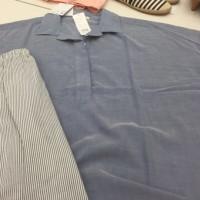 パジャマ ブルー系